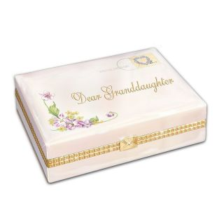 Dear Granddaughter Music Box Gift For Granddaughter By Ardleigh
