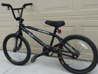 Vintage Old School Dave Mirra Black Haro 540 Air BMX Bike used