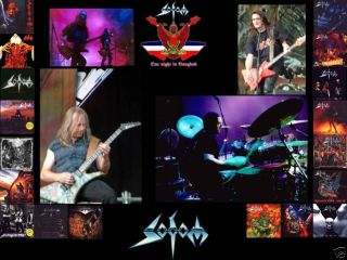 Sodom Poster New Death Metal Slayer Sadus Autopsy