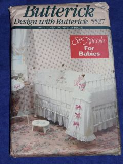Uncut Baby Room Design Boy Girl Sewing Pattern