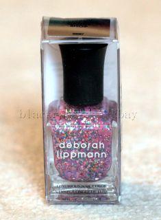 NEW in box Deborah Lippmann Nail Polish Candy Shop 0 5 oz 15 mL Full