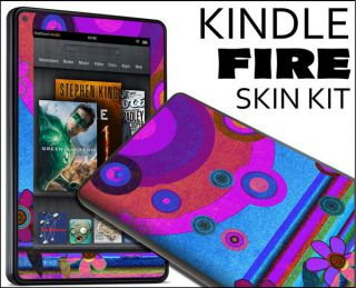 Kindle Fire Skin Vinyl Decal eBook Netbook Tablet 058