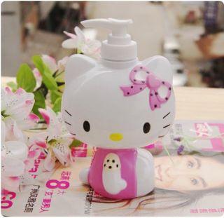 Hello Kitty Liquid Hands Soap Sanitizer Bottle Dispenser Pump
