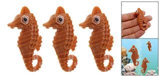 Plastic Float Hippocampi Sea Horse Fish Decor Aquarium