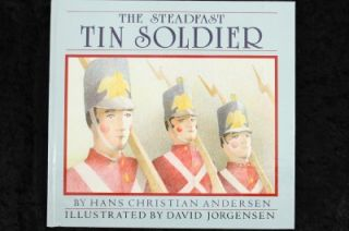 HB Childrens Book The STEADFAST TIN SOLDIER Hans Christian Andersen