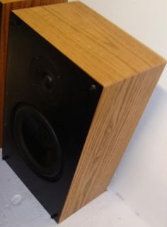 Vintage Snell K II Bookshelf Speakers Pair Oak Nice