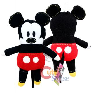 Disney Pook A Looz Mickey Minnie Mouse Plush Doll Toy Set 2pc 12