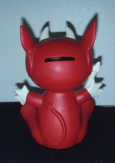 Vintage LiL Devil Bank Ceramic Hand Painted Still Coin Bank 1964