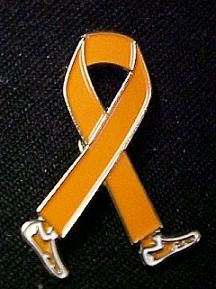 Deep Vein Thrombosis Awareness Month Is March Orange Ribbon Walking