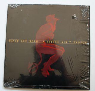 David Lee Roth Van Halen Late Vinyl LP 1991