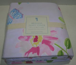 Pottery Barn Kids Brianna Full Queen Duvet Cover New