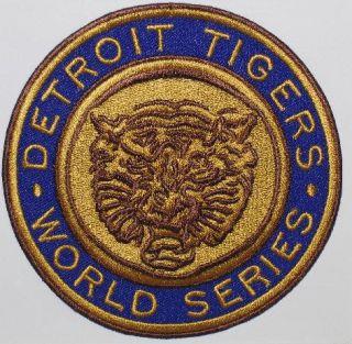 Detroit Tigers 1968 World Series Champions MLB Baseball Jersey Patch