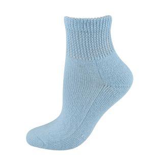Dr. Scholls womens socks Diabetes & Circulatory quarter blue 1 pair