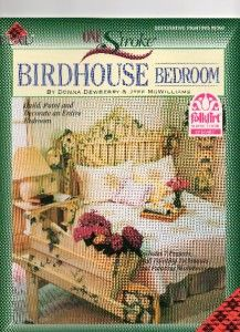 Donna Dewberry One Stroke Book Birdhouse Bedroom Brus