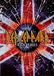 Def Leppard 2005 Rock of Ages Tour Concert Program Book