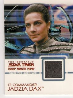 The Quotable Star Trek Deep Space Nine Costume Card C12 Jadzia Dax
