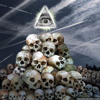 Anti New World Order Anti Illuminati David Dees T Shirt