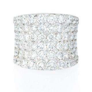 white gold diamond ring this gorgeous 18k white gold ring features 133