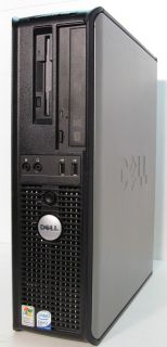 Dell Optiplex 745 Core 2 Duo 2 13 GHz 2 GB RAM 250 GB HDD DVD Win7 Pro