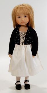 Chloe   Dianna Effner sculpt. Vinyl doll with hand painted eyes. Human
