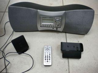 Delphi SKYFi2 XM Home Car Satellite Radio Receiver and Boombox SA10001