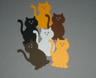 12 Sizzix Cat Kitten Die Cut