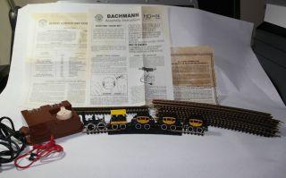 Dewitt Clinton HO Model Train Set Locomotive Engine, Tender, 3 Coach
