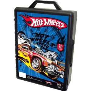 Hot Wheels 48 Car Storage Carrrying Carry Case for Diecast Cars Toy