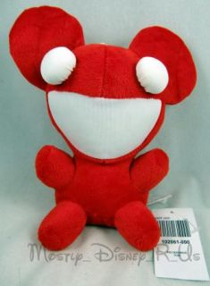 Deadmau5 Red Mouse 8 Collectible Plush Toy Doll Officially Licensed