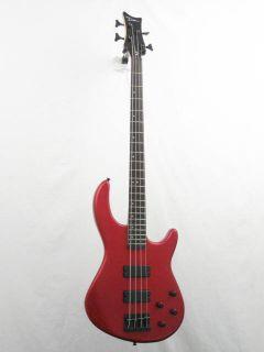 Dean E10AMRD Edge 4 String Electric Bass Guitar in Classic Red Blem