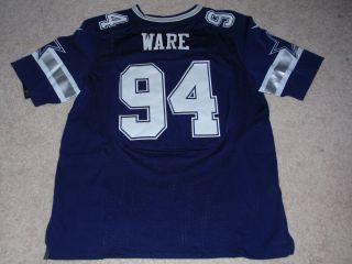 DeMarcus Ware # 94 Dallas Cowboys BLUE Jersey 2XL