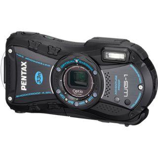 Pentax Optio WG 1 GPS 14MP 5X Waterproof Digital Camera Black
