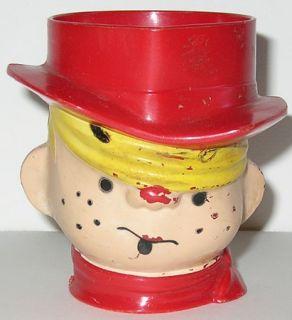 Vintage DENNIS THE MENACE Drinking CUP MUG Comic Book Cartoon Figure