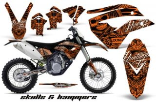 AMR Racing Decal Kit Husaberg FE 390 450 570 2009 2011