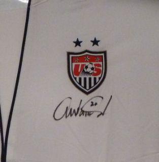 ABBY WAMBACH AUTOGRAPHED/SIGNED TEAM USA WORLD CUP NIKE JERSEY