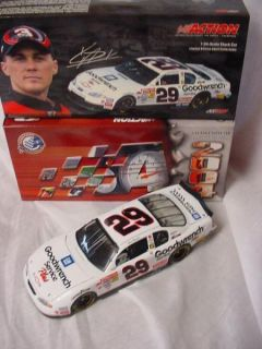 Count Kevin Harvick 29 Rookie 2001 Monte Carlo 1 24 Diecast NASCAR