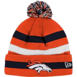 Denver Broncos New Era NFL On Field Sport Knit Winter Ski Hat Cap