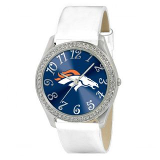 Denver Broncos NFL Football Wrist Watch Wristwatch Women Crystal Stone