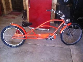 Kustom Kruiser Slick Daddy Stretched Beach Cruiser Bicycle Dyno Bike