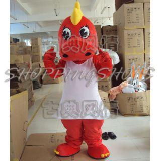 Dinosaur Dragon Mascot Costume Fancy Dress R00636 Adult Size One Size