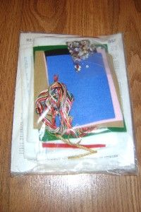 Sequin Felt Reach for The Star Xmas Stocking Kit New