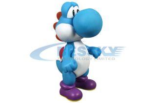 nintendo super mario bros yoshi figure dinosaur blue