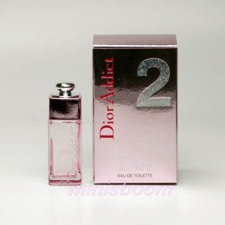 Christian Dior Dior Addict 2 Eau de Toilette 5 ml 0 17 oz Mini