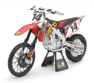 Kevin Windham 1 6 Scale Racing Replica Dirt Bike Toys