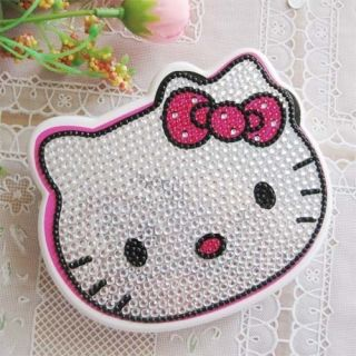 Crystal Hello Kitty Face Design Girl Folding Calculator
