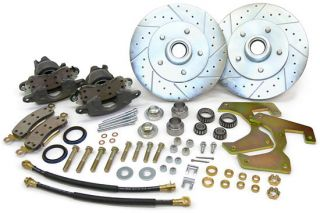 1955 57 Pontiac Fullsize Disc Brake Conversion Kit Stock Spindles