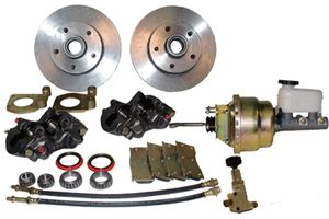68 69 70 Mustang Power Disc Brake Conversion Kit