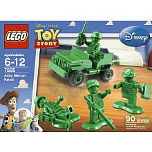 Lego Set 7595 Toy Story ARMY MEN ON PATROL New Sealed Box RETIRED