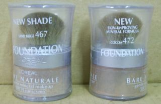 Discontinued LOreal Bare Naturale Mineral Makeup Foundation