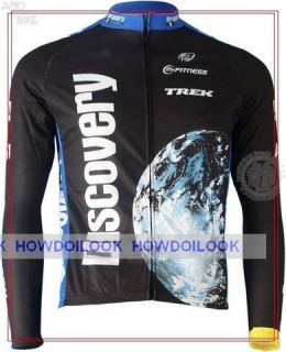 Discovery Channel Long Sleeve Cycling Jersey Bike Shirt Racing Size s